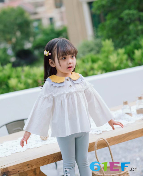 木言汀小潮童时尚单品 演绎春季时尚新潮流