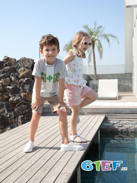 夏季来袭 波特维品牌童装带你走进凉爽的世界