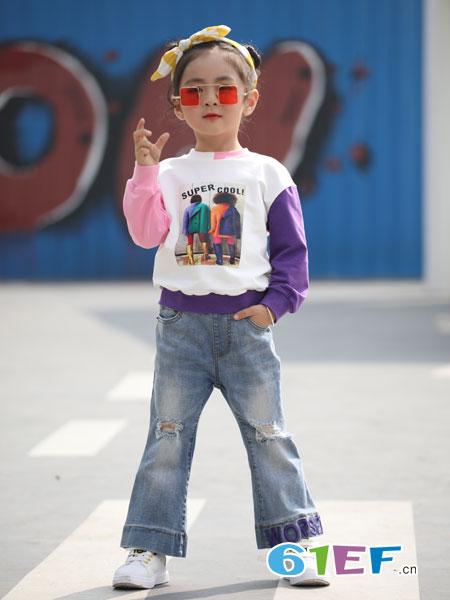 淘气贝贝童装带你上演时装秀 做个不一样的女孩儿