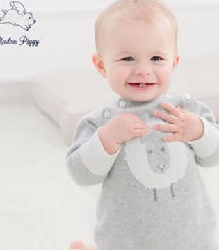 春季婴童连体衣 保护肚肚的卖萌神器