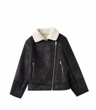 酷炫儿童皮衣外套 塑造迷你型男范