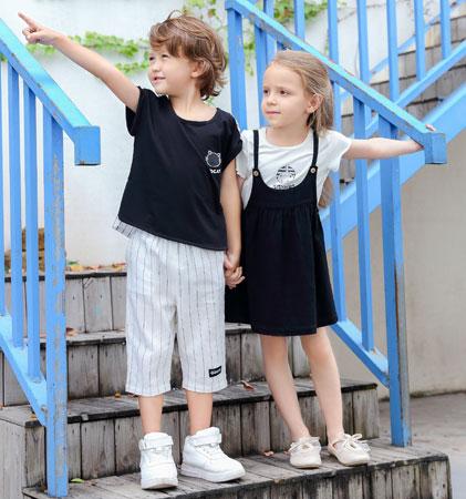 小神童服饰潮范时尚童装品牌2019年春夏系列新品上线啦