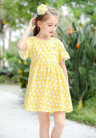 小神童童装品牌2019年春夏季新品连衣裙实现你的公主梦