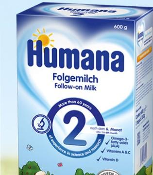 一款拥有专业知识的婴幼儿产品 Humana