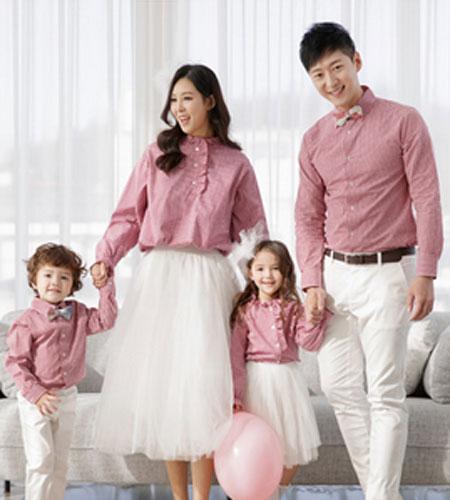Funnylove 韩国知名家庭亲子装品牌