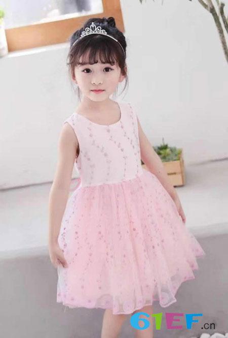 千棵树2019夏季连衣裙 让小公主甜美的与众不同