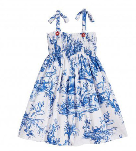 Oscar de la renta童装品牌 它则代表着高级