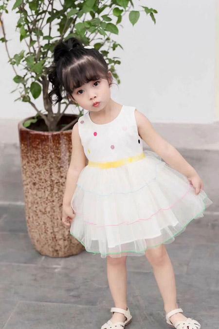 千棵树童装品牌 可爱的小公主服装