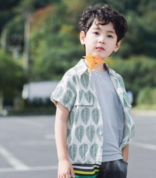 男童夏季穿搭 打造休闲可爱的时尚小暖男!