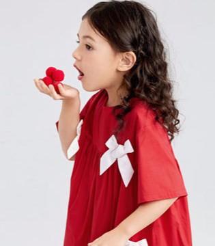 minipeace太平鸟俏皮甜美连衣裙  让孩子拥有好心情