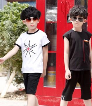 品牌折扣童装 小神童带你们奔放童年的热情