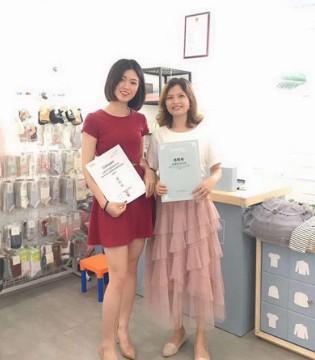恭喜佛山九江朱女士加入彩色笔 合作共赢!