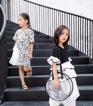 韩米娜风尚时尚公主裙 彰显宝贝清秀可爱