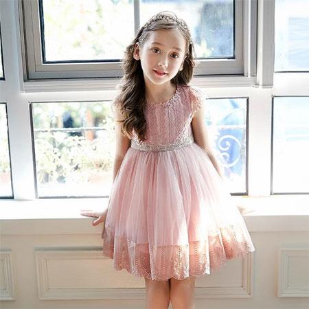 夏季梦幻连衣裙  圆宝贝心里的公主梦