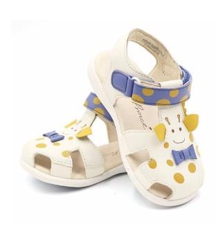 宝宝夏季包头软底凉鞋 宝宝学步好帮手