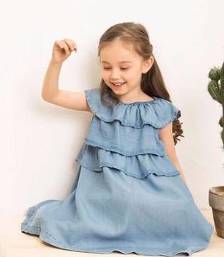 夏季洋气女童连衣裙 撩动你家小闺女的心
