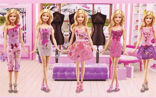 可爱芭比用品  在夏日里做个梦幻小公主