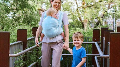 婴儿背带 让宝妈们出行带娃更省心