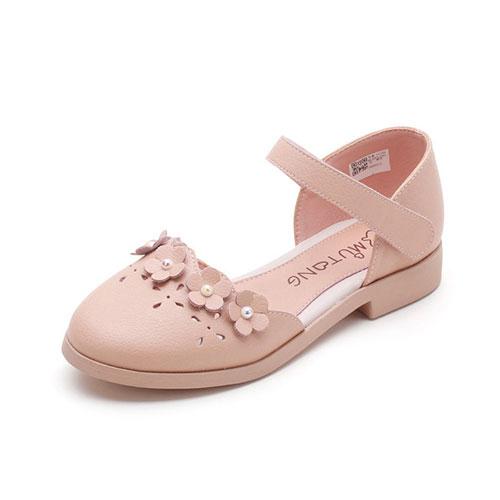 女童软底包头凉鞋 真皮舒适又时尚潮流