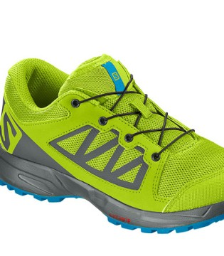 来自法国的户外登山鞋知名品牌 Salomon