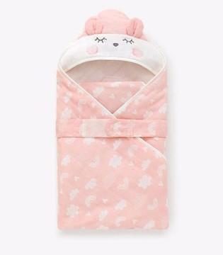 婴儿包被 给予宝宝安全感 夜晚更好入眠