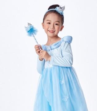 迪士尼公主连衣裙 打造甜美小淑女