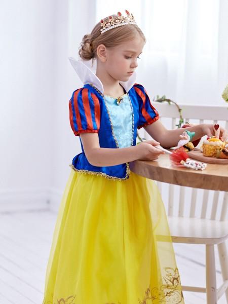 迪士尼公主裙童装品牌2019秋冬新品