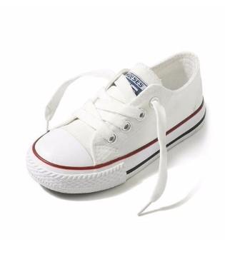 萌宝时髦舒适帆布鞋 让宝贝双脚免收闷热
