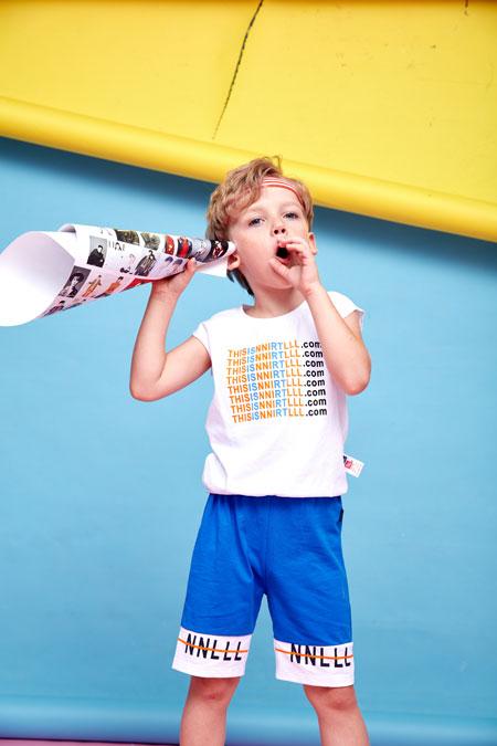 好消息 小鲨诺拉品牌牵手品牌童装网啦!