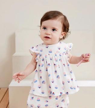 夏季时尚婴童套装 让宝贝舒适出门