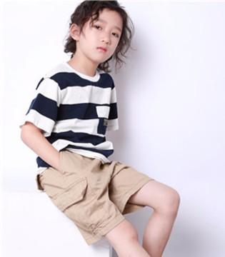 夏季男童短袖T恤 让宝贝尽享清凉一夏