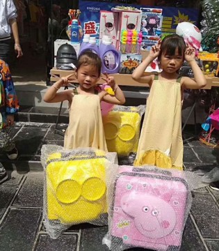 热烈祝贺金果果梦想童装贵州织金店开业大吉!