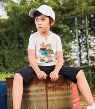 卡儿菲特男童短袖T恤  让宝贝清凉过一夏