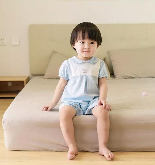 童泰童装|方便宝贝夏天穿脱的连体衣
