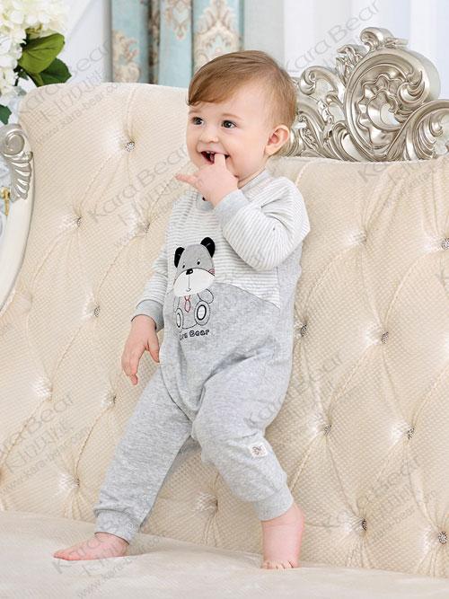 卡拉贝熊婴童连体衣 做个萌萌哒小宝贝