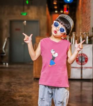 快乐精灵男童T恤  让宝贝潮酷有范