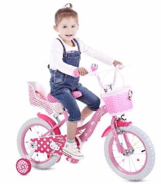 时尚儿童自行车  实现宝贝的公主梦