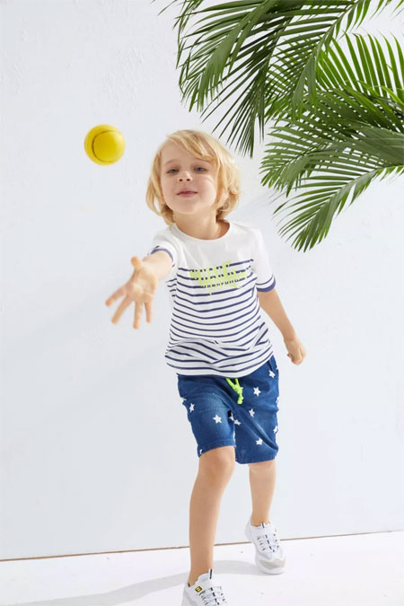 拉夏贝尔8em童装夏季新品 风一样的男孩子