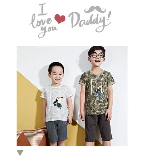 粒粒仔祝愿天下所有爸爸们安康幸福 节日快乐!