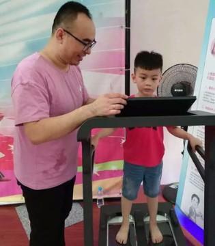 """""""守护未来,始于足下""""公益测足行动湖南站启动"""