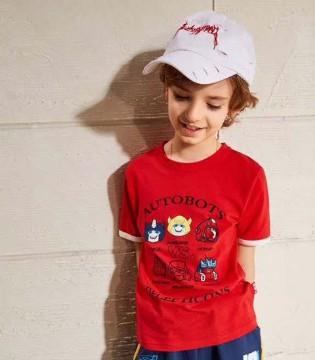 小虎宝儿男童短袖T恤  给宝贝清凉整个夏季