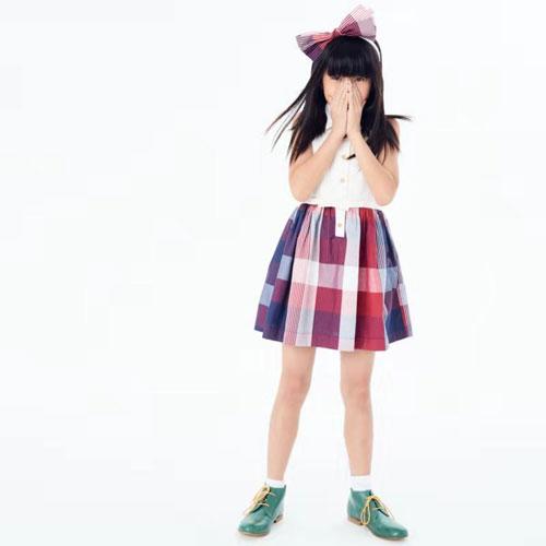 可米芽女童连衣裙 让小公主美丽整个夏天