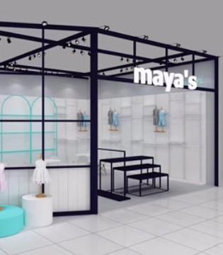 mayas品牌童�b登�上海展�� 燃爆盛夏