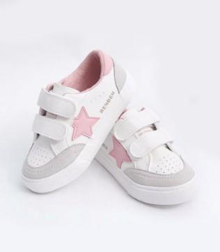 百搭小白鞋 让宝贝在夏日畅跑有活力
