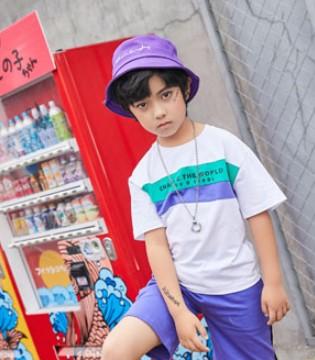 叽叽哇哇男童短袖T恤  彰显宝贝青春活力感
