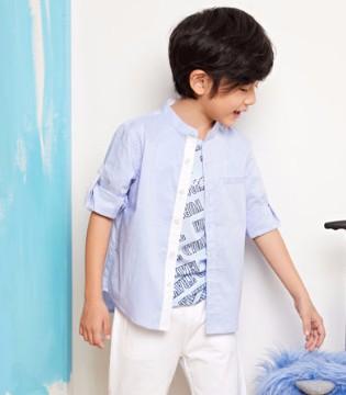 poipoilu泡泡噜男童时髦单品  尽显小帅哥的绅士风范