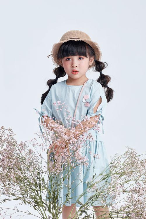 2019DIZAI女童连衣裙 做个夏日小甜心