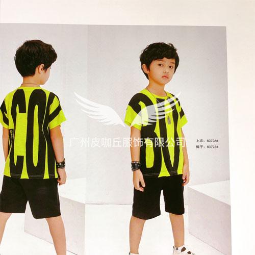 皮咖丘旗下的格林牛牛男童夏季新品 变身时尚小潮童