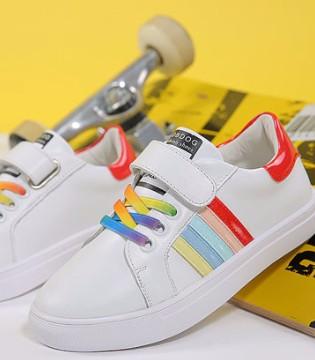 巴布豆小白鞋 让孩子在夏季穿着舒适透气