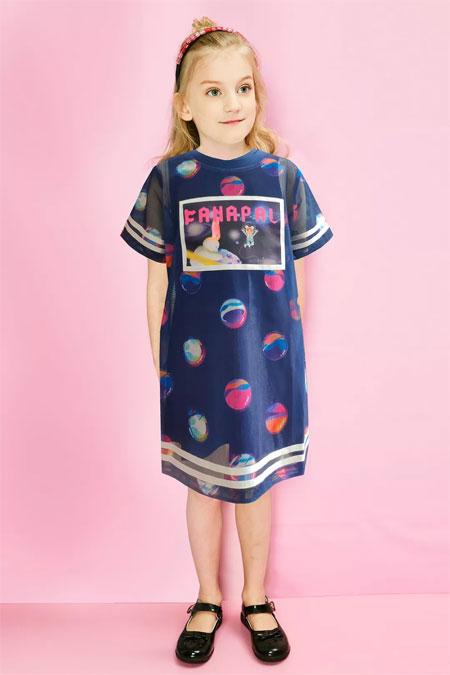 法纳贝儿童装  舒适 凉爽 轻薄―夏日的穿着